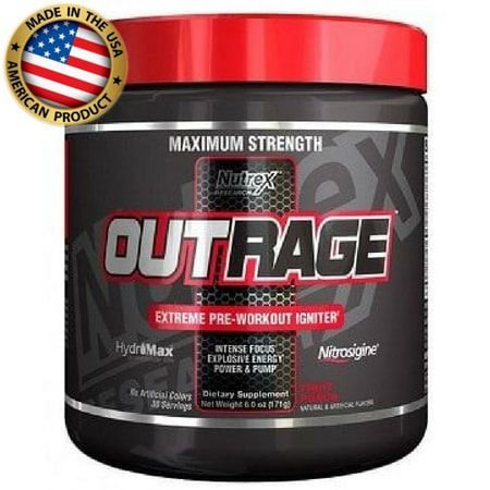 Outrage - (30 doses) - Nutrex