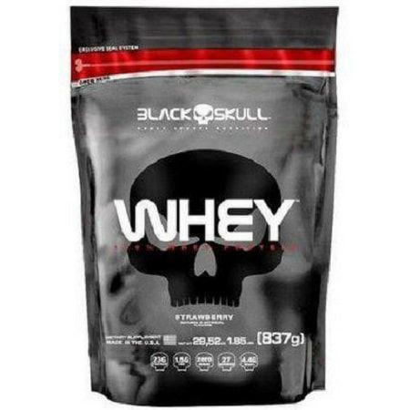 100% Whey Refil (837g) - Black Skull