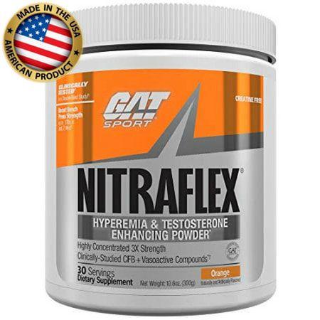 Nitraflex (30 doses) - Pré Treino Importado - GAT