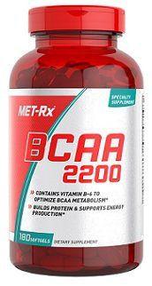 BCAA 2200 - (180 Caps) - MET-Rx