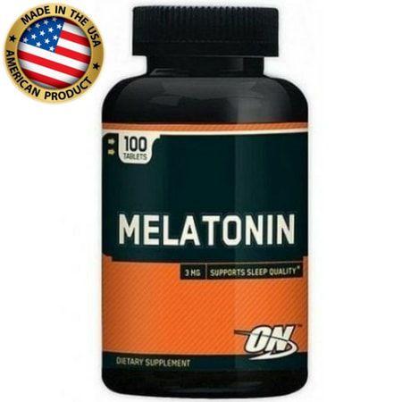Melatonina 3mg (100 cápsulas) - Optimum Nutrition