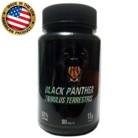 Tribulus Terrestris - 1.100mg  - (90 Cáps) - Black Panther