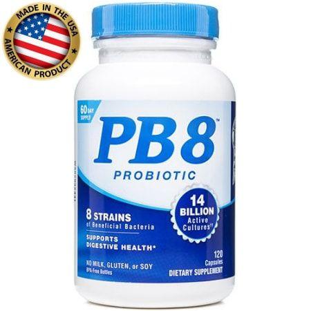PB8 (Acidófilo Probiótico) - (120caps) -  Nutrition Now Vitamins