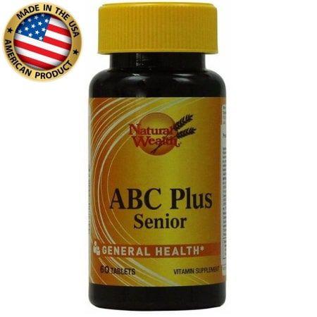 Multivitamínico ABC Plus Senior - Natural Wealth