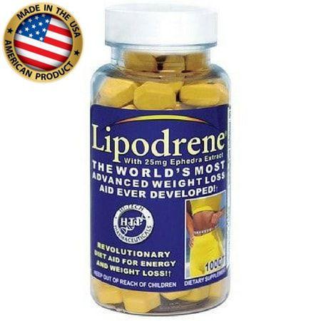 Lipodrene (100 cápsulas) - Hi-Tech Pharmaceuticals