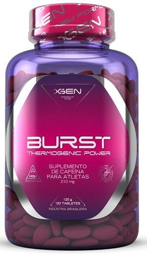 BURST Thermogenic Power - (120Tabs) - Xgen Nutrition
