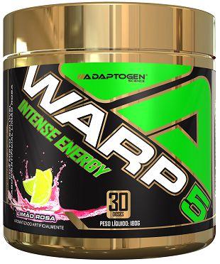 WARP 5 - Pré-treino - (180g) - Adaptogen Science