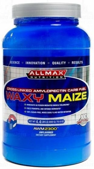 WaxyMaize (2kg) - Allmax Nutrition