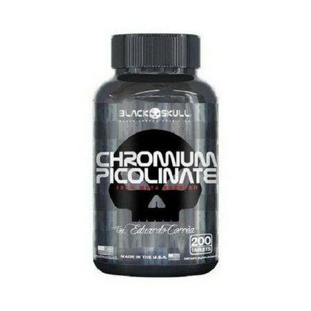 Chromium Picolinate (200Tabs) - Black Skull