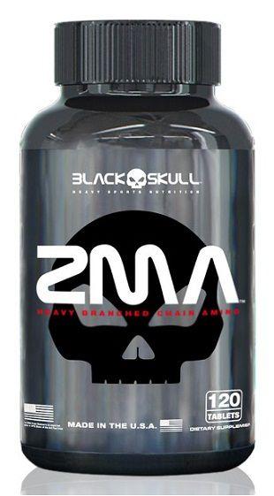 Zma - (120caps) - Black Skull