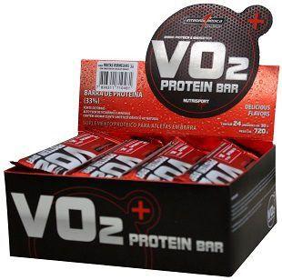 Barra de Proteina VO2 Protein Bar - Integralmedica