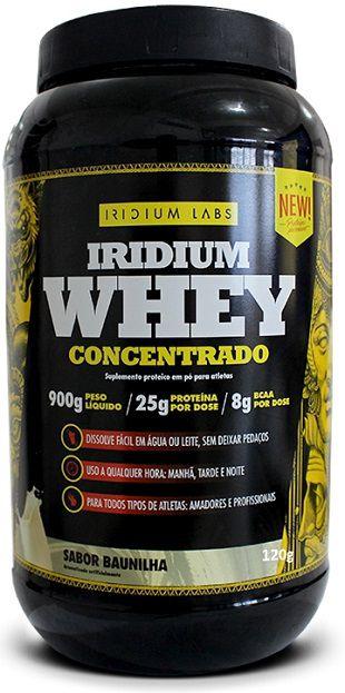 Whey Concentrado - (900g) - Iridium Labs