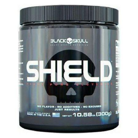 Shield Glutamine - Black Skull