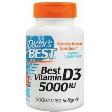 Best Vitamin D3 5.000 IU - (180caps) - Doctor's Best