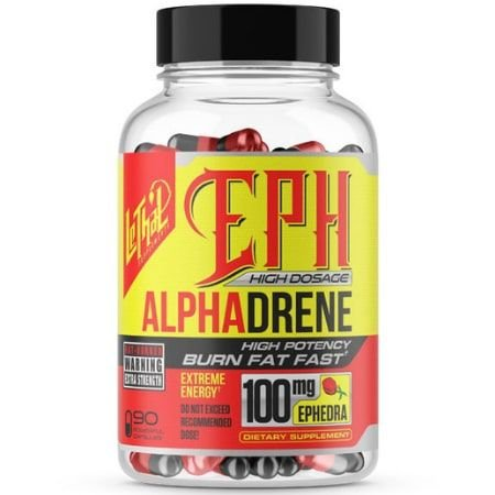 Alphadrene Termogênico - (60 caps) -  Lethal Supplement