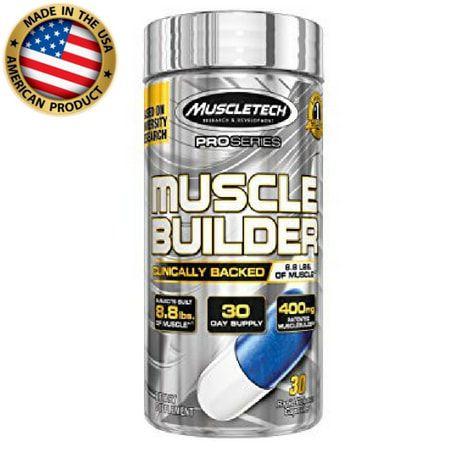 Muscle Builder - (30 doses) -  Potencializador muscular - Muscletech