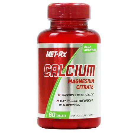 Calcium Magnesium Citrate - (60 caps) -  Met-Rx