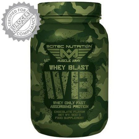 Whey Blast - Scitec Nutrition (Europeia)