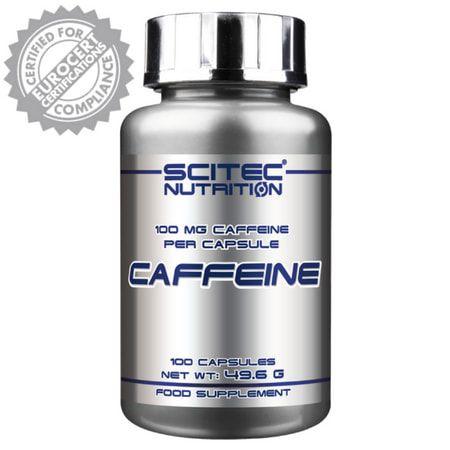 Caffeine - (100caps) - Scitec Nutrition (Europeia)