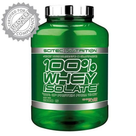 100% Whey Isolate - Scitec Nutrition (Europeia)