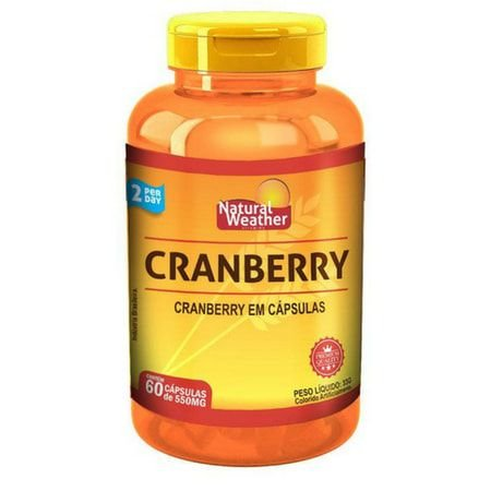 Cranberry - (60 caps) - Natural Weather