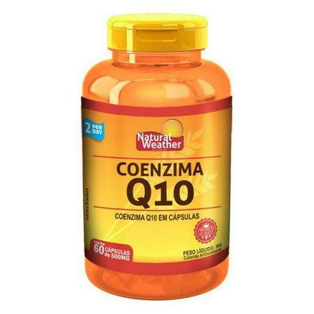 Coenzima Q10 100mg - (60 caps) - Natural Weather