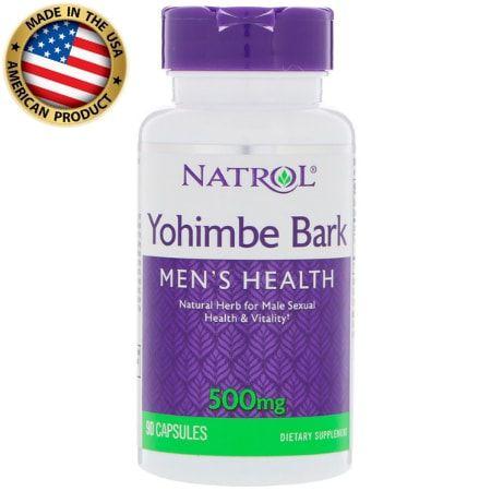 Yohimbe Bark - 500mg - (90 caps) - Natrol