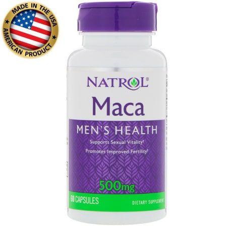 Maca - 500mg - (60 caps) - Natrol