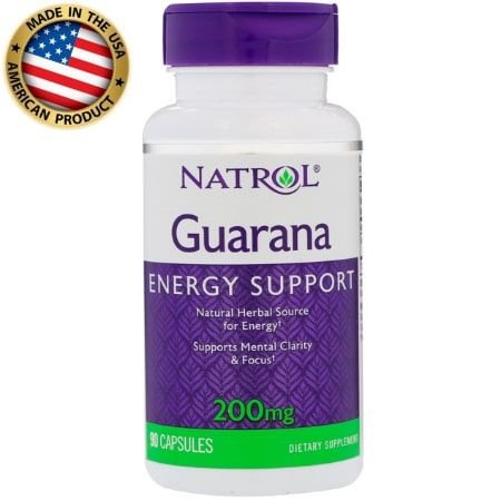 Guarana - 200mg - (90 caps) - Natrol