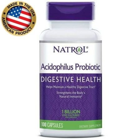 Acidophilus Probiotic - 100mg - (150 caps) - Natrol