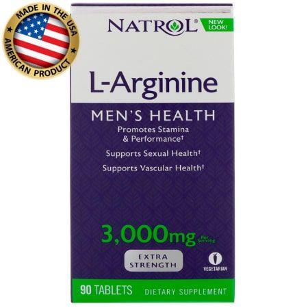 L-Arginine - 3000mg - (90 tabs) - Natrol