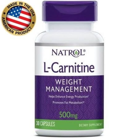 L-Carnitine - 500mg - (30 caps) - Natrol