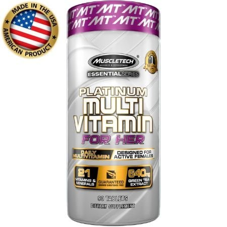 Platinum Multivitamínico For Her - (90 caps) - Muscletech