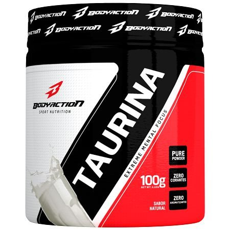 Taurina - (100g) - Natural - Body Action