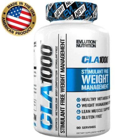 CLA 1000 - (90 caps) - Evolution Nutrition