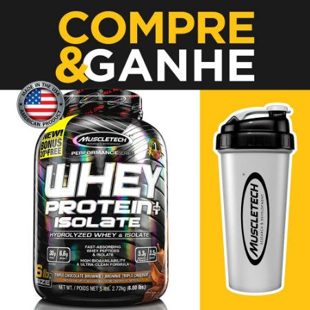 Whey Protein Plus Isolado - Muscletech