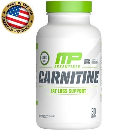 L-Carnitina - 1000mg - (60 caps) -  Muscle Pharm