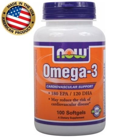 Omega 3 - (100 caps) - Now Sports