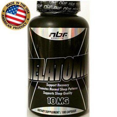 Melatonina - (100 caps) - NBF Nutrition