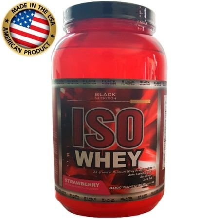 Iso Whey - (907g) - Black Nutrition