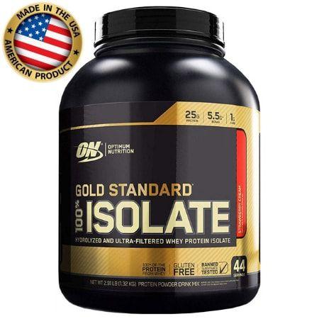 Whey Protein 100% Isolado - Gold Standard - Optimum Nutrition