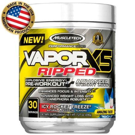Pré treino + Termogênico Nano Vapor - X5 Ripped - (30 doses ) - Muscletech