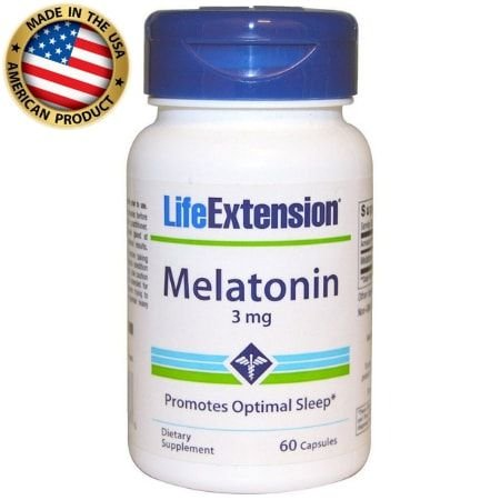 Melatonina - (60 caps) - Life Extension