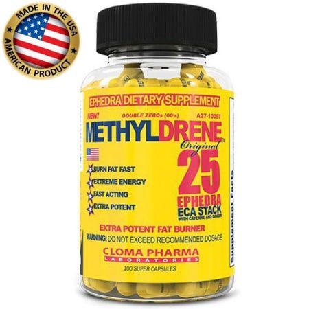 Methyldrene ECA Stack - (100 Caps) -  Cloma Pharma
