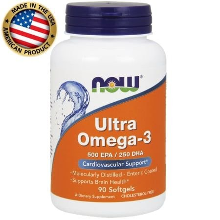 Ultra Omega 3 - (90 caps) - Now Sports