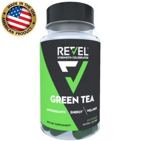 Green Tea - chá verde - (60 caps) - Revel