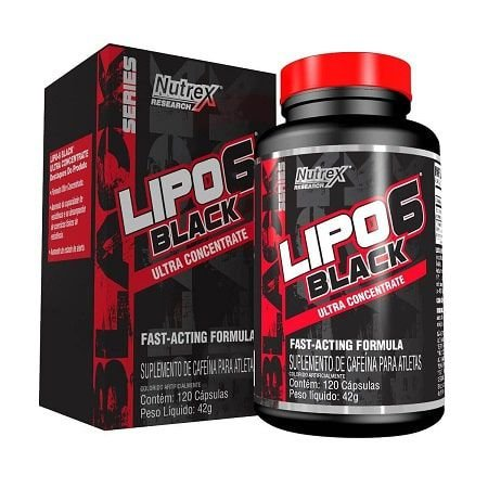 Lipo 6 Black Ultra concentrado (120caps) - Nutrex