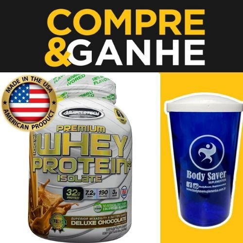 Premium 100% Whey Protein Plus Isolate - (1,36kg) - Muscletech