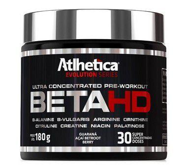 Beta Hd (180g) - Pré-Treino - Atlhetica Nutrition - Evolution Series