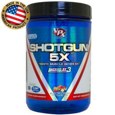 Shotgun 5X (518g) - Pré Treino Importado - VPX Sports